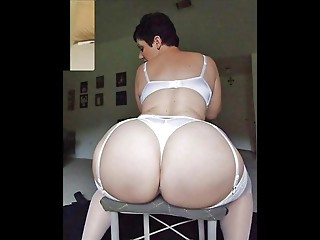 Perfect booty white girl Large booty compilation 2
