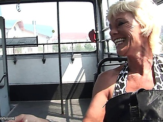 juvenile dude spots a granny, abondoned by her dude and gives her a wonderful bang