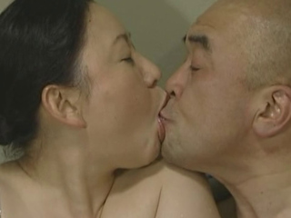 Older Japanese lady drilled