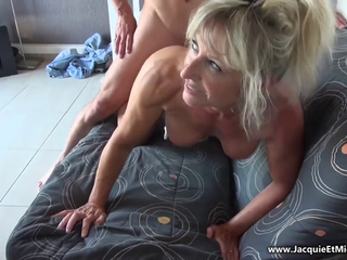Dilettante French anal-copulation mother I'd like to fuck