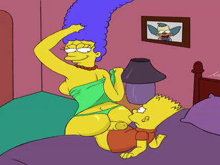 Toon Porn Simpsons porn Marge screw his son Bart