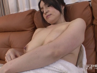 Older Bigtitted Japanese Chick And The Marital-device Salesman