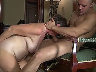 old slut showers and catches stepson masturbating