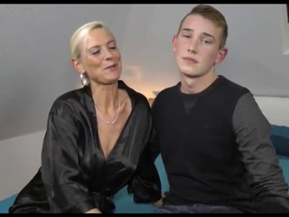 Forty three year mature German Mama Fantastic Bonk With Son