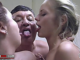 Mama daughter and paramour sex Italian, hawt 3some
