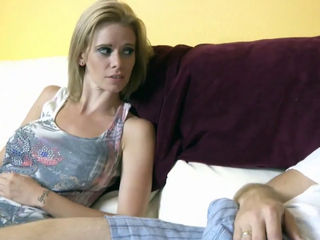 Stepmother screwed hard by her stepson