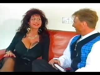 Classic Big breasted Euro Milf Banging