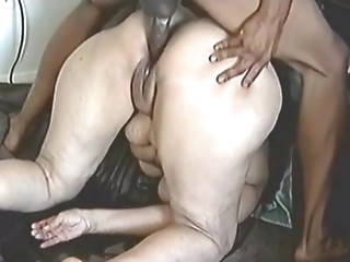 Squirting old slut
