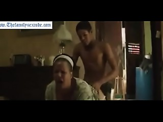 thefamilysextube.com--black son with large  ramrod and his mamma hawt lovemaking