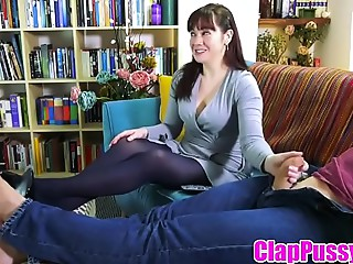 ClapPussy.com - Ally watches Mother and her son