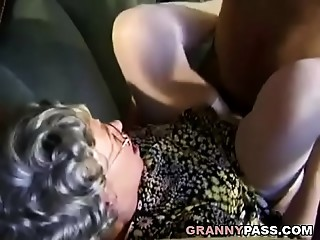German Grandmother Can&#039_t Expect To Bang Juvenile Delivery Fellow