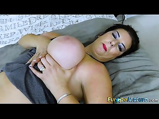 EuropeMaturE Supplementary Big breasted Chunky Lulu Lush Solo