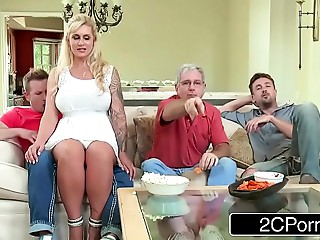 Curvy Mother-in-law Ryan Conner Takes Her Stepson&#039_s Juvenile Penis