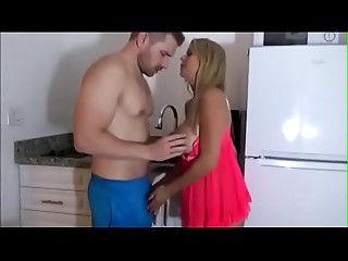 Slutty mama seduces son to a breakfast bang - FREE Full Mother Sex Movie scenes at FiLF.BiZ