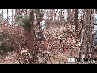 stranded Cougar coercive to shag a masked stranger