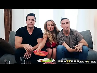 Brazzers - Brazzers Exxtra -  Superbang My Gazoo scene starring Corinna Blake, Keiran Lee and Ramon