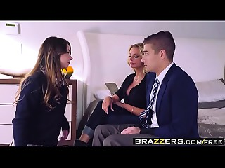 Brazzers - Mammas in control -  The Loophole scene starring Briana Banks, Taylor Sands and Xander Corv