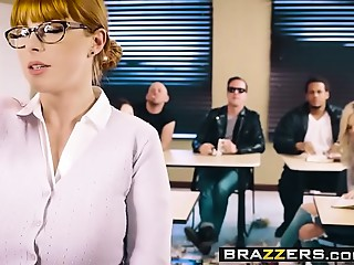 Brazzers - Large Mangos at School -  The Substitute Whore scene starring Penny Pax and Jessy Jones