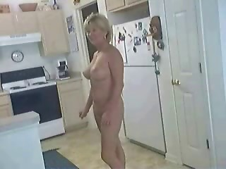 hooker in the kitchen