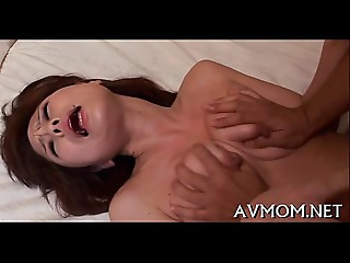 Oriental milf can&#039_t live without sucking balls