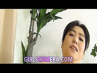 Oriental lesbo matures playing with bra buddies and wet crack