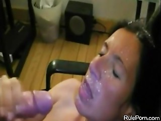 Cum Blast in a Popular Non-professional Porn Compilation