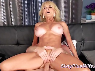 Ms. Cooper receives lascivious with herself
