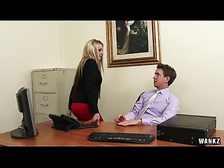 Russian Employee Exploited for Sex By Hawt Mother I'd like to fuck Boss