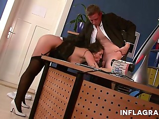 Hot Upskirt Mother I'd like to fuck Secretary
