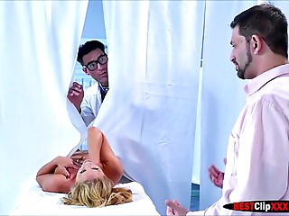 Wife Cherie Deville visited to Doctor with fellatio and supplementary screwed