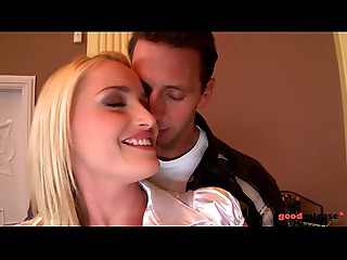 Golden-haired Mother I'd like to fuck Kathia Nobili gazoo licked and drilled like a machine