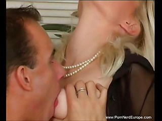 Spruce Blond European Cougar Coarse Sex