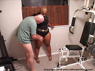 Anal sex BBW Ebon Elder Housewives