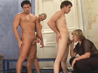 What is the Name of Older Golden-haired Czech CFNM Corpulent MILF ?