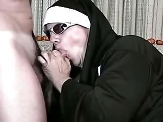 Anal-copulation nun fucking