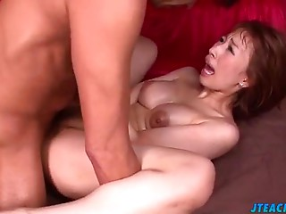 Superb Tiara Ayase screwed in mad scenes of Oriental porn