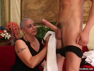 Grandmother 1st Massive Rod Butt slam