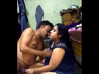 Bangladeshi Bigtitted Selena aunty copulates her driver when her spouse is in office 1