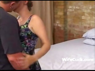 Cuckold spouse films his wife taking it in all holes on Wifecuck.com