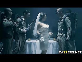 A bride ghost craves a wedding night bukkake