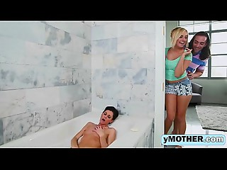 Hawt Mamma And Daughter In Threesomeig-1080-1
