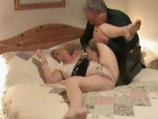 Hidden camera shows elder treated to oral-stimulation sex.