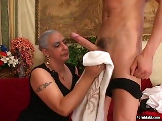 Old slut Can't live without Large Rod