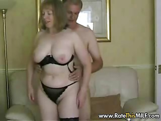 Rate My MILF - granny mature in stockings sucking cock