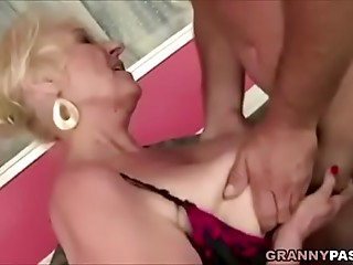 Grandmother Bonks Fresh Yoga Teacher