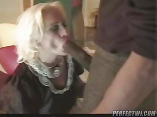 White Mommys love engulfing Large Dark Dicks 1