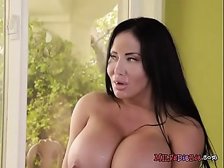 Older Hoe Sybil Stallone Acquires Facialized By Plumber