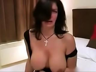 British MILF copulates her darksome bf