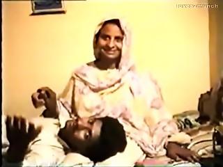 Shy Desi Aunty Reluctantly Bonks on Movie scene for Rupees