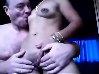 Hot Older Wife Rides on White Cock (new)